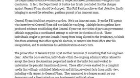 El presidente Trump perdona a Michael Flynn
