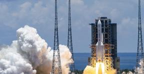 China lanza la primera sonda independiente vinculada a Marte