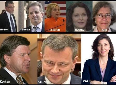 Hoja de cálculo desclasificada del FBI expone la farsa del dossier de Steele