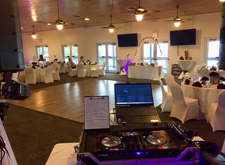 Briggs Wedding Indian Riverside Park Francis Langford Pavilion Jensen Beach FL DJ Ceremony Reception