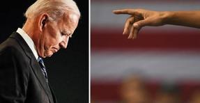Mire a Joe Biden criticar a los 'depredadores sin padre