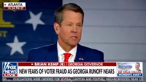 El gobernador de Georgia, Kemp, solicita una auditoría de firmas luego de las imágenes de CCTV