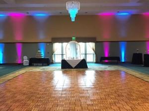 Uplighting Transforms the Wedding