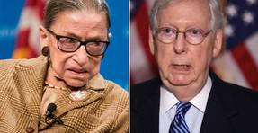 Mitch McConnell dice que el Senado aceptará al candidato para reemplazar a Ruth Bader Ginsburg