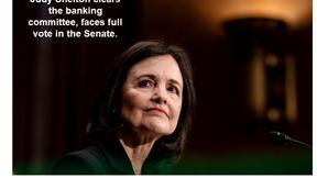El controvertido defensor del oro avanza para el nombramiento de la Fed