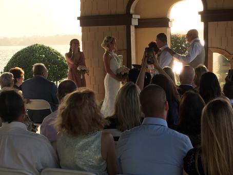 The Casements Ormond Beach Wedding DJ at Rockefeller Home