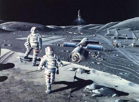 Bases militares en la Luna: planes de EE. UU. Para convertir en arma el satélite de la Tierra