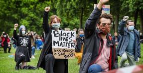 El análisis de banco muestra que solo 1 de cada 6 manifestantes de BLM son negros
