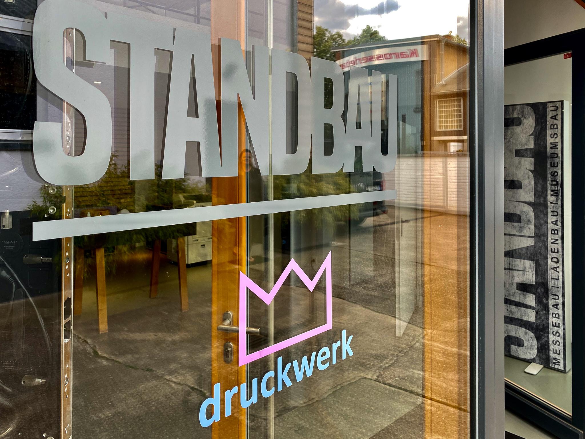 #Schaufensterbeschriftung #Frankfurt