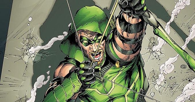 Green Arrow Struggles to Design New Arrow Types