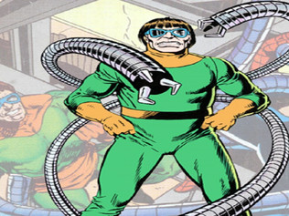 Doctor Octopus Unveils New Weapon to Use Against Spider-man: A Giant Bug Zapper