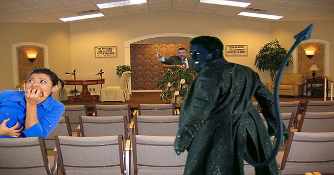 Nightcrawler Accidentally Teleports Into Kingdom Hall, Becomes Jehovah's Witness