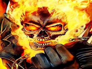 Ghost Rider Uses Penance Stare on Girl Scout, Flees From Scene