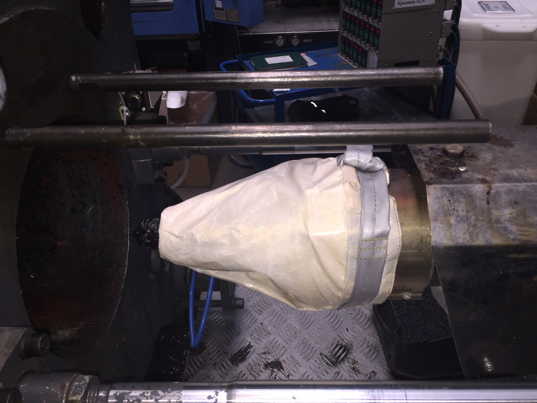 Защитный чехол Фалькон от проливов материала на сопло