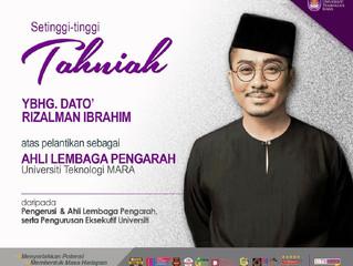 Tahniah Dato' Rizalman