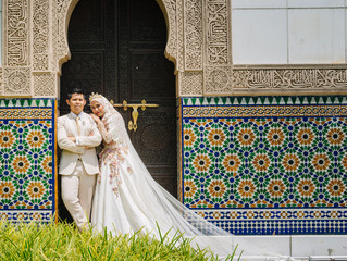 Syuq & Emi Post Wedding at Astaka Morocco