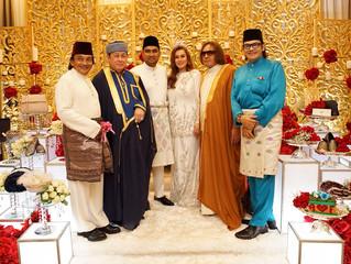 Solemnisation of Sharifah Alanna Datuk Syed Alwi & Syed Fahmi