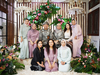 The Reception of Hanis & Ricky