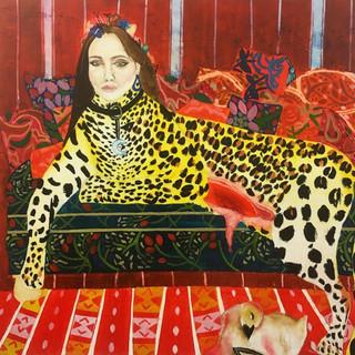 Self Portrait as a Leopard