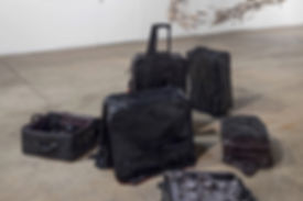 Sammy Lee, joomchi, hanji, korean art, denver artist, contemporary paper art, kozo, paper felting, body cast