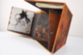 Oksang Lim, Soil, artist book, box book, cube, Sammy Lee