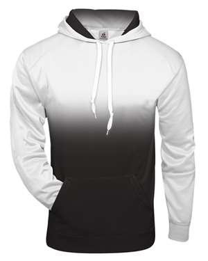 Youth Badger Ombre Hooded Sweatshirt