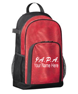 Personalized Glitter Backpack