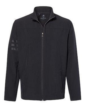 Adult Adidas Climastorm 3-Stripes Jacket