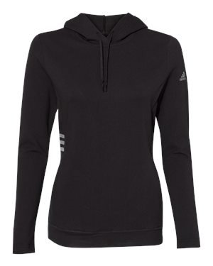 Ladies Adidas Lightweight Hooded Sweatshirt
