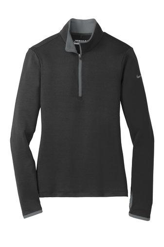 Ladies Nike Dri-FIT Stretch 1/2-Zip Cover-Up