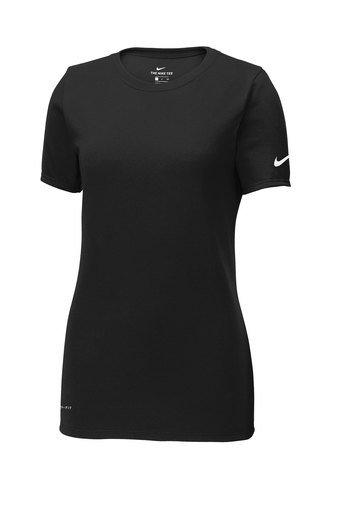 Ladies Nike Dri-Fit Scoop Neck Tee