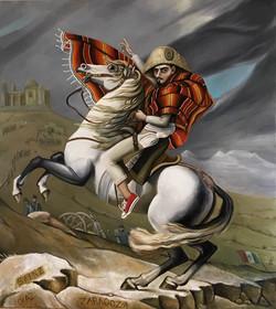Autorretrato en la Batalla de Puebla