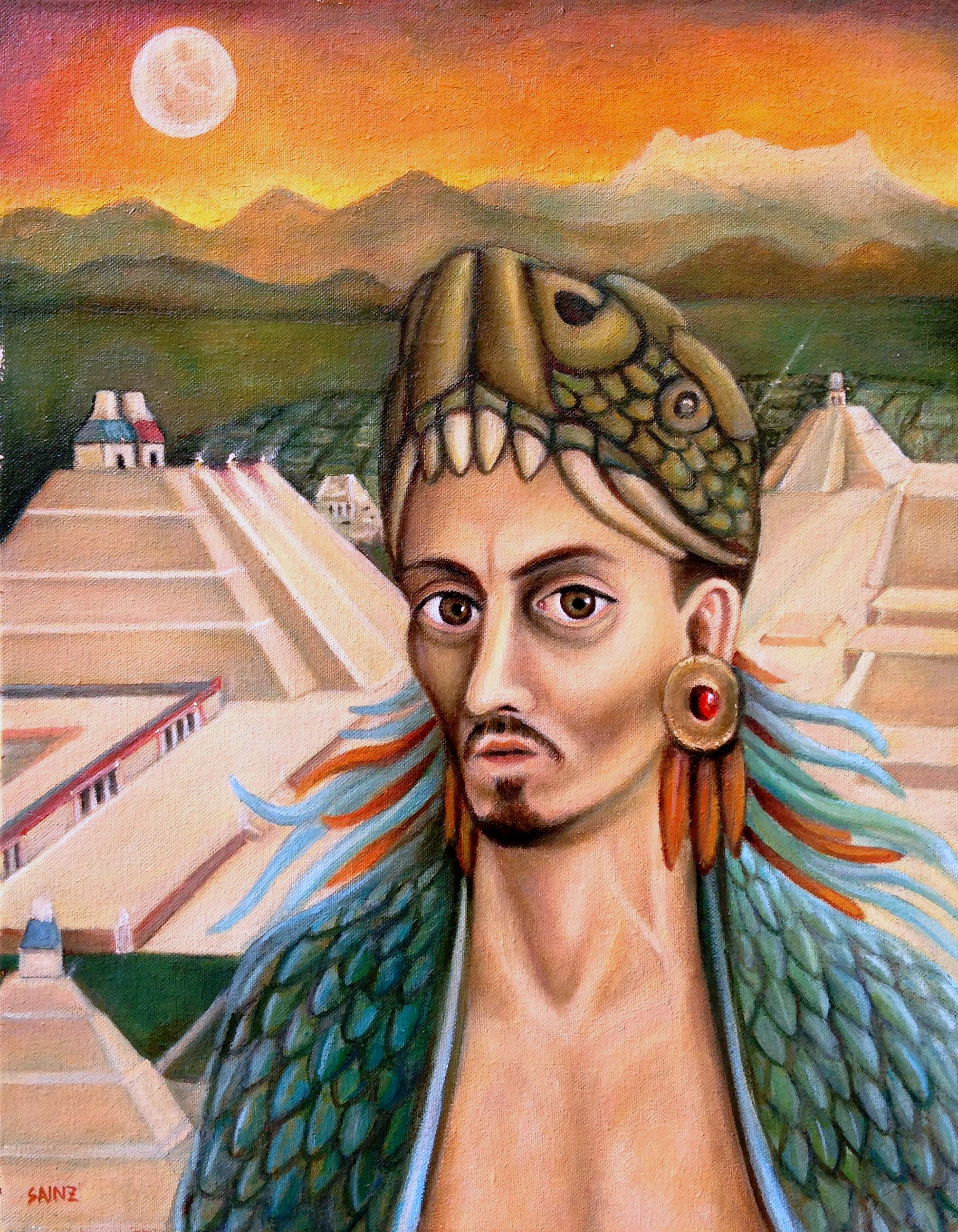 Autorretrato en Tenochtitlán