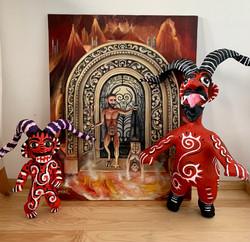 El diablito saliendo del psicoanálisis