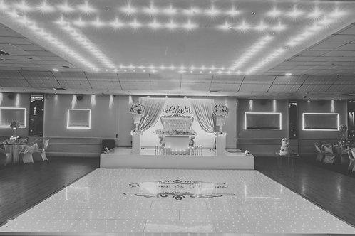 LED Dancefloor 12ft by 12ft
