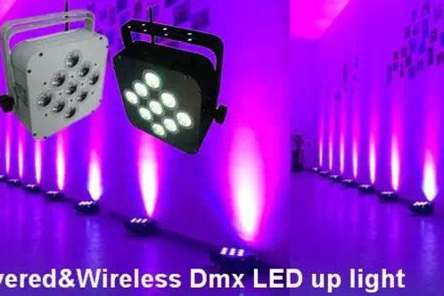 LED WIRESS UPLIGHTERS
