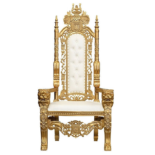 Lion King & Queen Throne Chairs