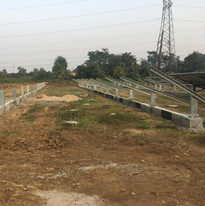 Structure-Erection-for-1MW-Solar-Power-P