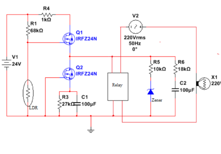 How To Prepare A Simple Automatic Light Sensing Switch