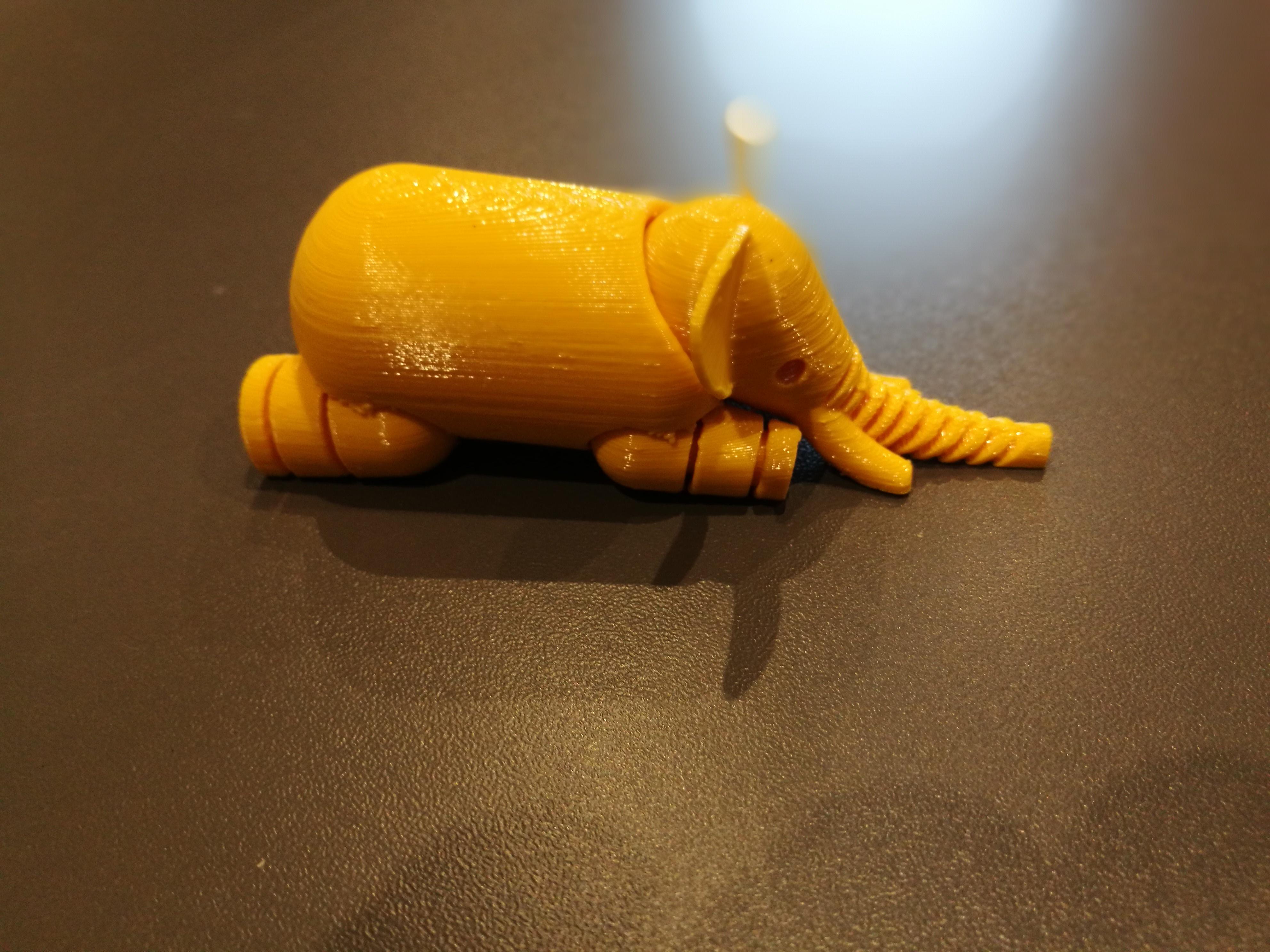Impression 3D Objet Eléphant