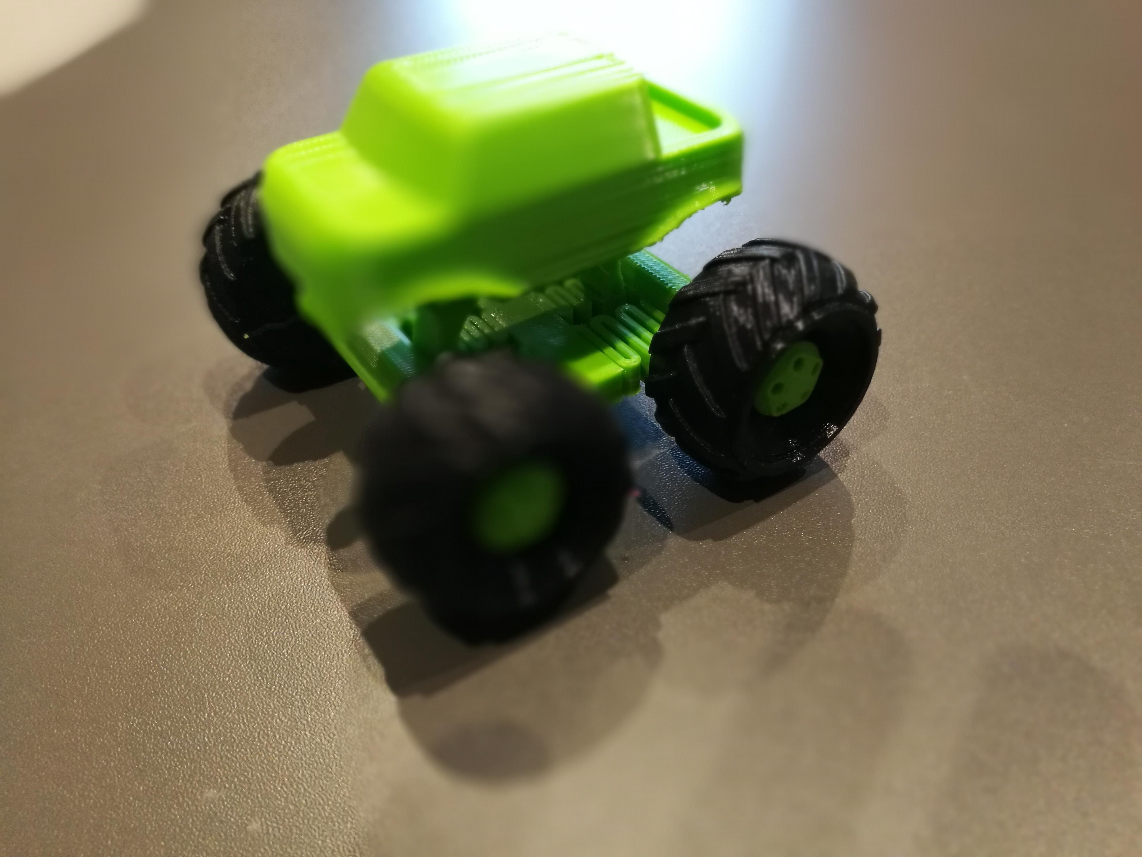 Impression 3D jouet voiture