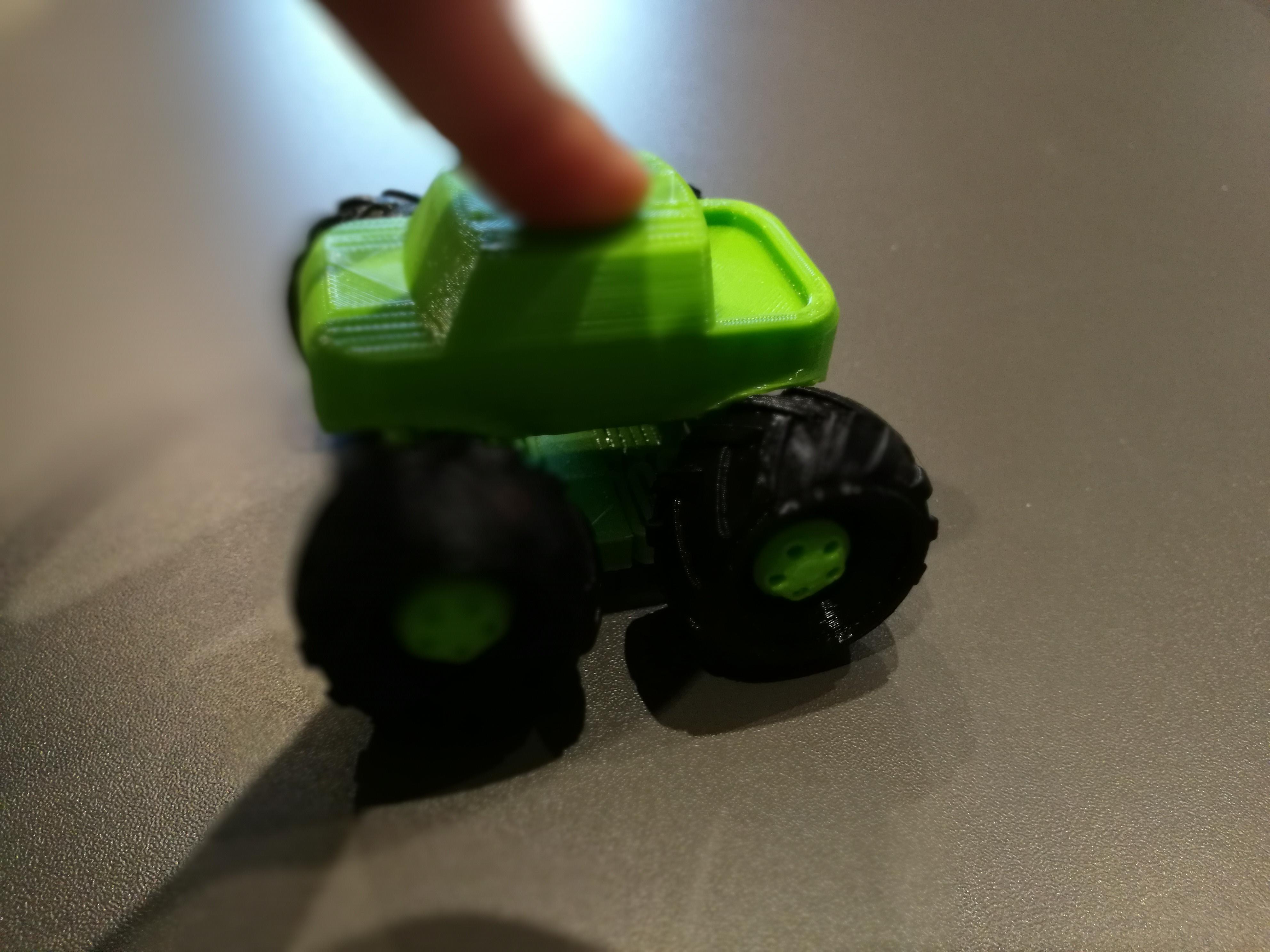 Impression 3D voiture enfant