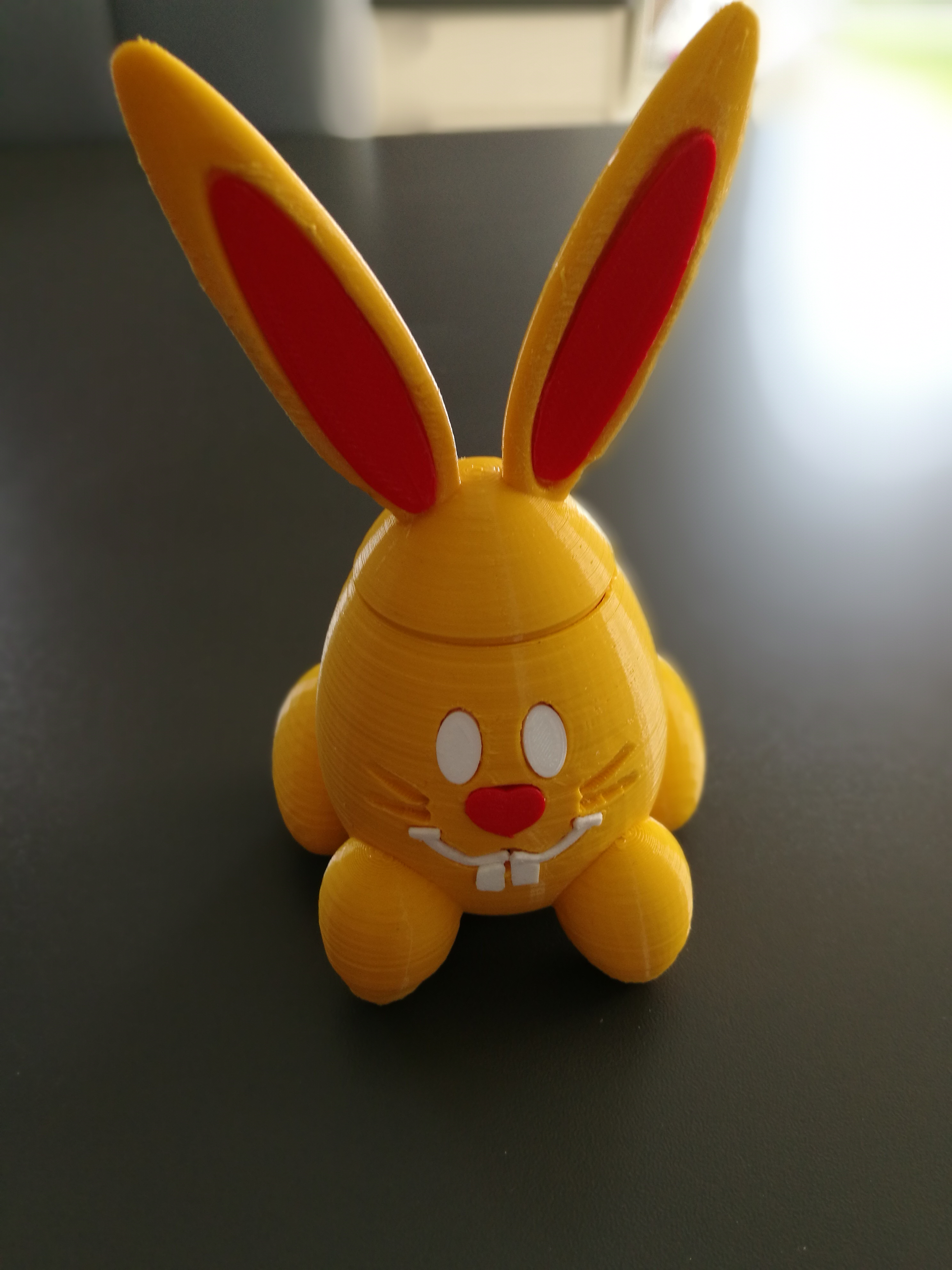 Impression 3D Lapin Oeuf