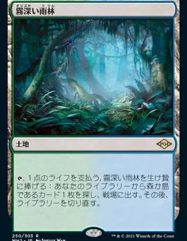 モダンホライゾン2注目カード(土地)
