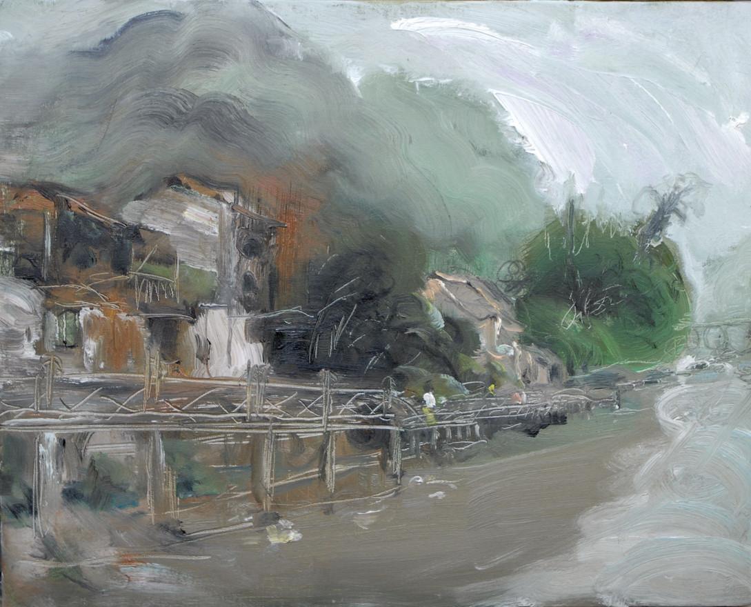 Old Town LiuJiang by Mt.Wawu16x20.JPG