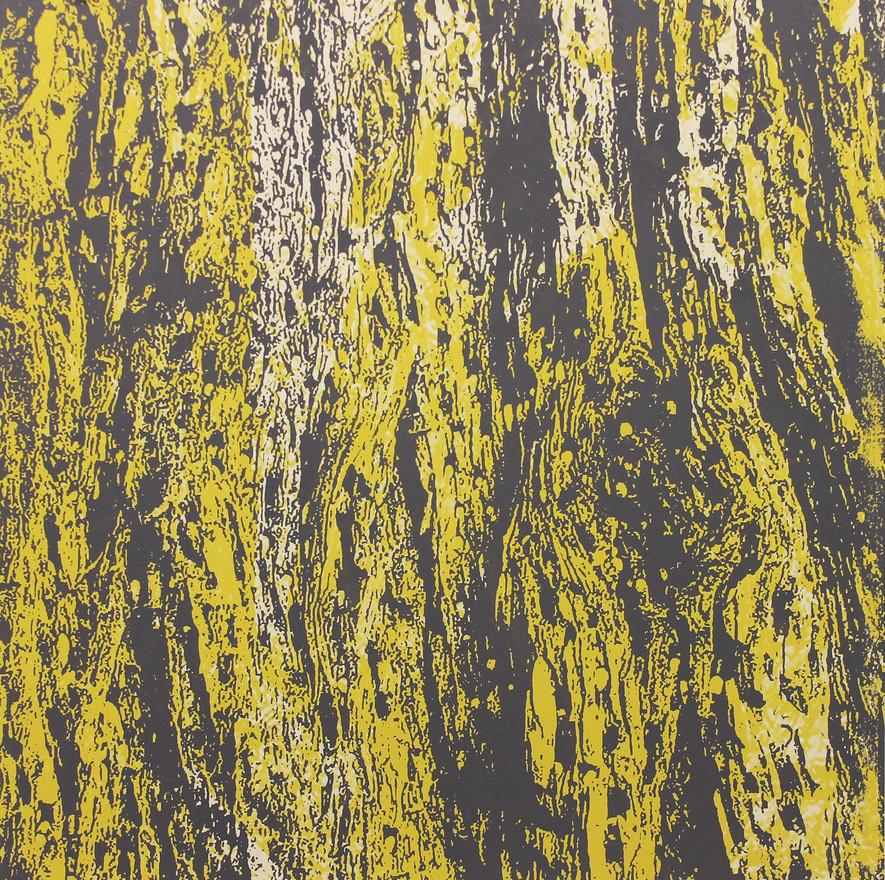 Redwood Bark Print (yellow)