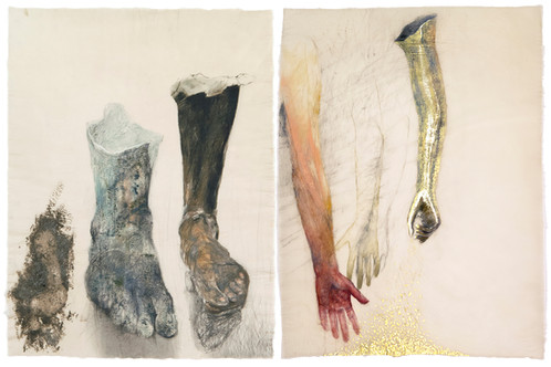 Arms and Legs (diptych)