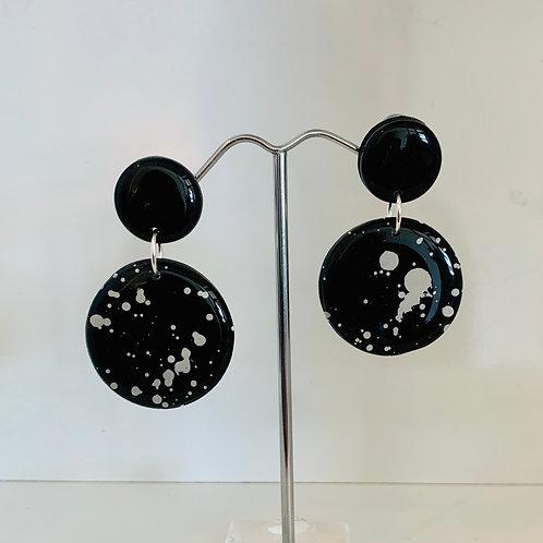 Earrings - Circle Dangles