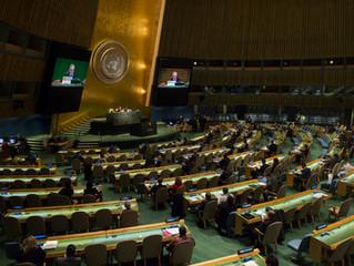 「平和への権利宣言」が国連総会で遂に採択される。