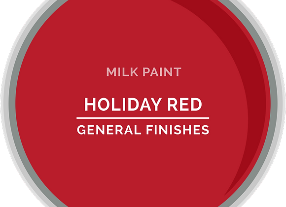 MILK PAINT - HOLIDAY RED Pint